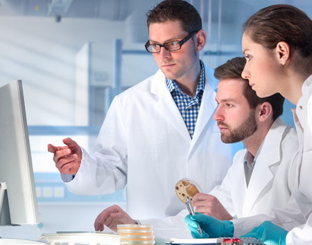 Laboratorio de Análisis Clínicos y hormonas