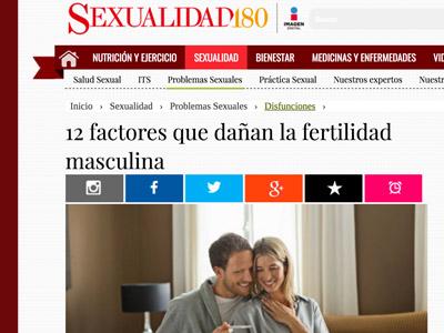 Entrevista en Sexualidad 180