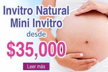 Fecundación in Vitro Natural, Mini Invitro desde $35,000